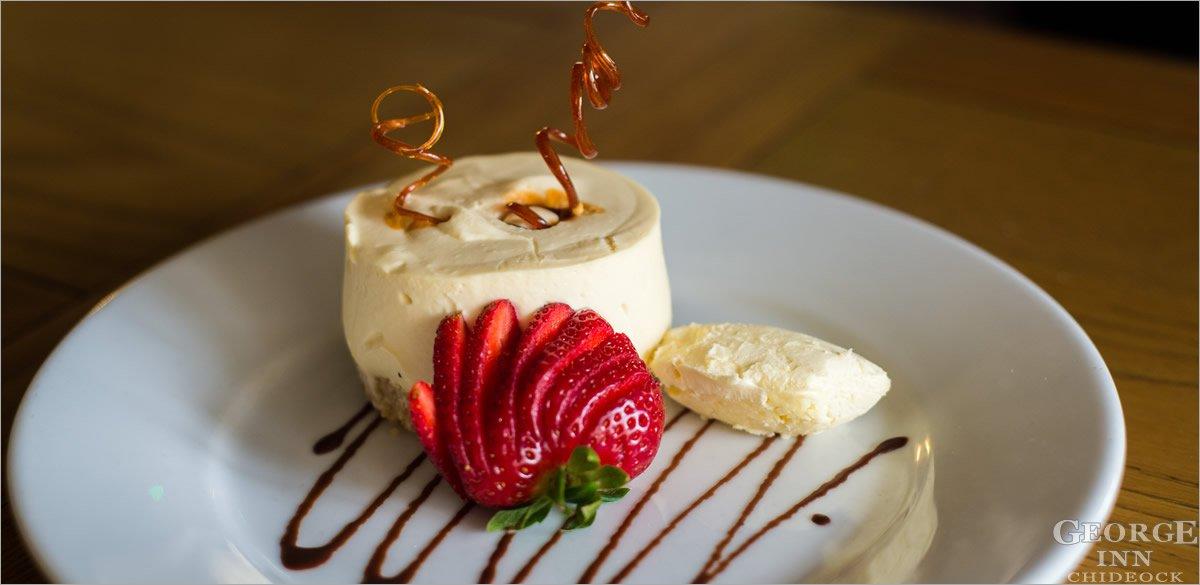 George Inn dessert